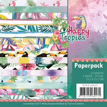 Yvonne Creations Happy Tropics 6x6 Inch Paper Pack (YCPP10025)