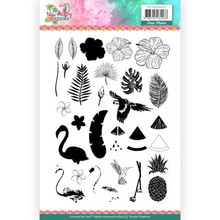 Yvonne Creations Happy Troppics Clear Stamp Set (YCCS10051)