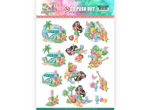Yvonne Creations 3D Push Out Happy Tropics Tropical Holiday (SB10361)