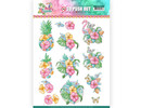Yvonne Creations 3D Push Out Happy Tropics Tropical Flowers (SB10362)