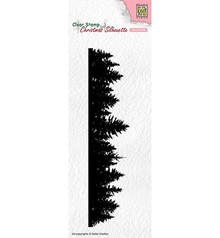 Nellie Snellen Pine Tree Border Clear Stamp (CSIL005)