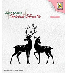 Nellie Snellen Deer Clear Stamp (CSIL006)