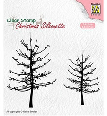 Nellie Snellen Leafless Trees Clear Stamp (CSIL010)