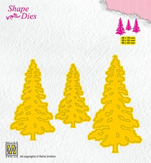 Nellie Snellen Shape Die Pinetrees (SD167)