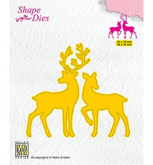 Nellie Snellen Shape Die Deer (SD169)