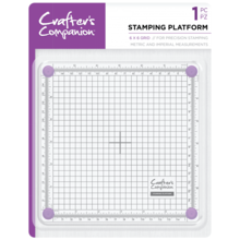 Crafter's Companion 6x6 Inch Stamping Platform (CC-TOOL-STPLAT6)