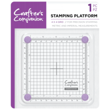 Crafter's Companion 4x4 Inch Stamping Platform (CC-TOOL-STPLAT4)