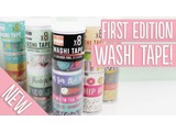 First Edition | Washi Tape