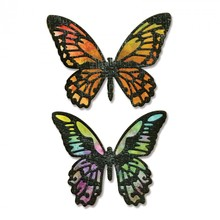 Sizzix Thinlits Alterations Detailed Butterflies (661182)
