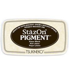 Tsukineko StazOn Pigment Piano Black (SZ-PIG-31)