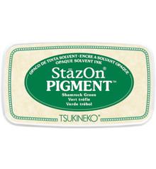 Tsukineko StazOn Pigment Shamrock Green (SZ-PIG-51)