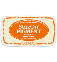 Tsukineko StazOn Pigment Orange Peel (SZ-PIG-71)