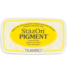 Tsukineko StazOn Pigment Lemon Drop (SZ-PIG-91)
