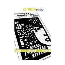 Carabelle Studio Madame A6 Masking Stencil (TE60085)
