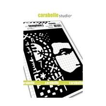 Carabelle Studio Monsieur A6 Masking Stencil (TE60086)