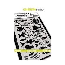 Carabelle Studio Des Poissons A6 Masking Stencil (TE60088)