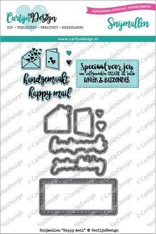 CarlijnDesign Snijmal Happy Mail (CDSN-0009)