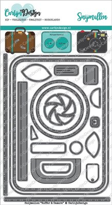 CarlijnDesign Snijmal Koffer & Camera (CDSN-0017)