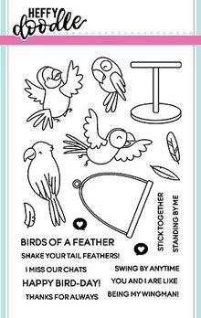 Heffy Doodle Wingman Stamps (HFD0055)