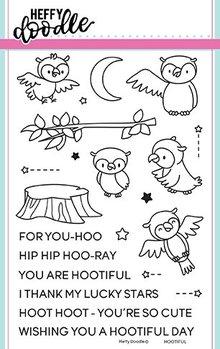 Heffy Doodle Hootiful Stamps (HFD0077)