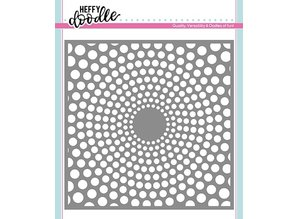 Heffy Doodle Circles of Life Stencil (HFD0127)