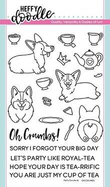 Heffy Doodle Oh Crumbs Stamps (HFD0133)
