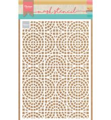 Marianne Design Masking Stencil Mosaic Tiles (PS8035)