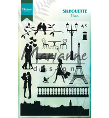 Marianne Design Silhouette Paris Clear Stamp (CS1027)
