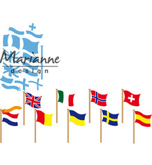 Marianne Design Creatable Flags (LR0603)