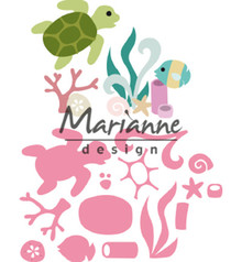 Marianne Design Collectable Sealife by Marleen (COL1468)
