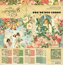 Graphic 45 Joy to the World 12x12 Inch Collection Pack (4501909)