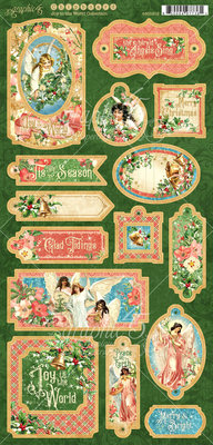 Graphic 45 Joy to the World Chipboard (4501912)