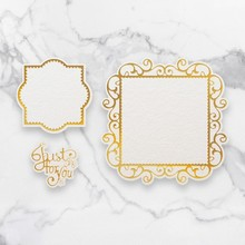 Couture Creations Just For You Frames Cut, Foil & Emboss Die (CO726755)