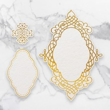 Couture Creations Quartet Frames Cut, Foil & Emboss Die (CO726757)