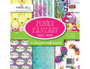 Polkadoodles Funky Fantasy 6x6 Inch Paper Pack (PD7896)