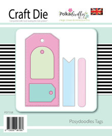 Polkadoodles Posydoodles Tags Dies (PD7558)