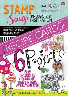 Polkadoodles Stamp Soup Funky Fantasy Recipe Cards 1 (PD7897)