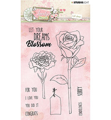 Studio Light Lovely Moments Clear Stamps (STAMPLM388)