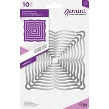 Gemini Stitch Edge Oval 2 Papercraft Die (GEM-MD-ELE-STSQ2)