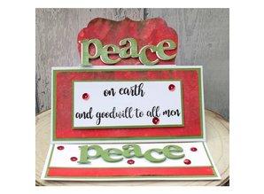 Gemini Peace Stamp & Die (GEM-STD-PEA)