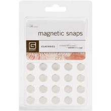 BasicGrey Magnetic Discs Small Magnets (met-359)