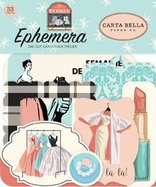 Carta Bella En Vogue Ephemera (CBEV103024)