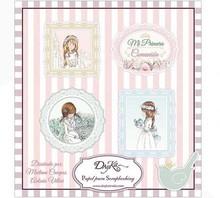 Dayka Mi Primera Comunion Nina 8x8 Inch Paper Pad (SCP-1022)