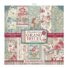 Stamperia Grand Hotel 12x12 Inch Paper Pack (SBBL57)