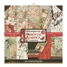 Stamperia Oriental Garden 12x12 Inch Paper Pack (SBBL58)