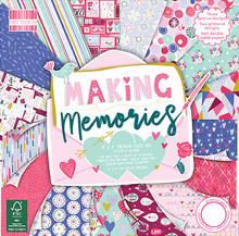 First Edition Making Memories 8x8 Inch Paper Pad (FEPAD210)