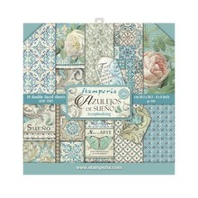Stamperia Azulejos 8x8 Inch Paper Pack (SBBS04)
