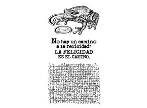 Stamperia Natural Rubber Stamp Cosmos Frog (WTKCC04)