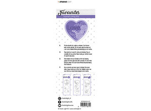 Studio Light Favourites Cutting & Embossing (STENCILSL147)