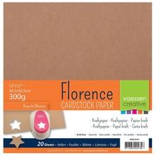 Vaessen Creative Florence Kraft Papier 12x12 Inch Pack (2920-0101)